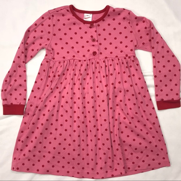 Hanna Andersson Other - Hanna Andersson PINK DOT PLAY DRESS 120 6-7 Tunic